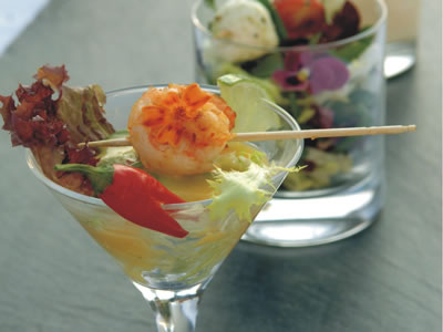 Salat-im-Glas